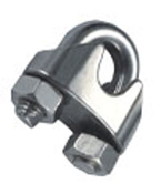 "Wire Cable Clip, '1/4"" Forged"