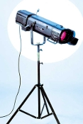 CRICKET 1KW Tungsten Followspot with Tripod Stand