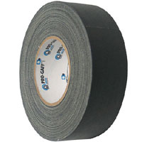 "3"" Black Gaffers Tape"