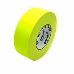 "2"" Fluorescent Yellow Gaffer's Tape"
